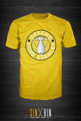 Defend Lord Stanley | Gold Rush - Sin Bin Hockey Apparel