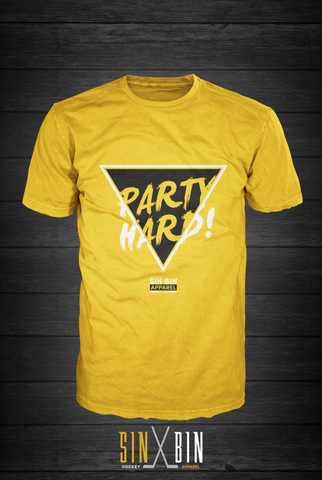 Party Hard | Gold Rush - Sin Bin Hockey Apparel