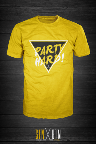 Party Hard | Gold Rush 2.0 - Sin Bin Hockey Apparel