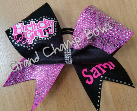Party Birthday Girl Bow - GrandChampBows