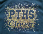 Penn Trafford Warriors PTHS Spectacular Bling Design