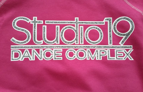 Studio 19 2 Color Glitter No Rhinestone Design