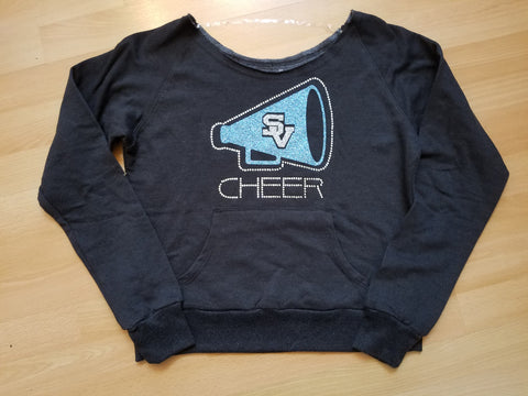Seneca Valley Quick Sale Youth Large pocket sweatshirt - GrandChampBows