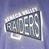 Seneca Valley Raiders Megaphone Spectacular Bling Rhinestone Design