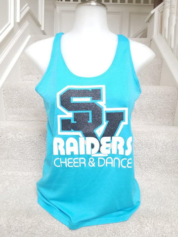 IN STOCK: Seneca Valley Raiders Performance Racer Tank