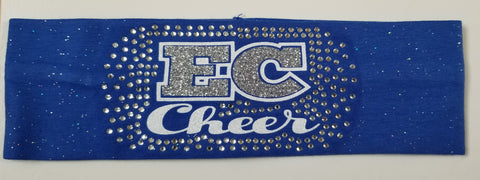 Ellwood City EC Cheer Sparkle & Bling Headband
