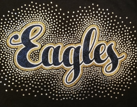 Eagles Spectacular Bling Rhinestone Design