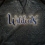East Allegheny Wildcats Spectacular Glitter and Rhinestone Design