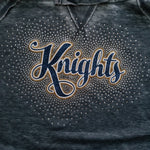 Knoch Knights Spectacular Glitter and Rhinestone Design