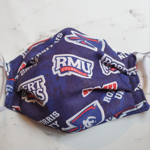 Robert Morris RMU Colonials Fabric Masks