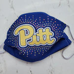 Pitt Panthers Bling Masks