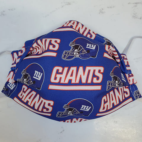 Giants Football Fabric Masks