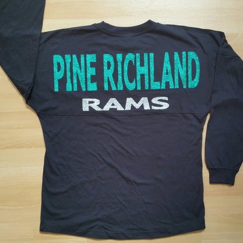 In Stock Pine Richland Boyfriend Spirit Jersey in Youth & Adult sizes - GrandChampBows - 1