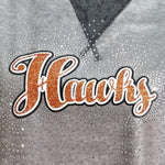 Armstrong Riverhawks Hawks Spectacular Bling Rhinestone Design