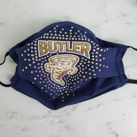 Butler Golden Tornado Bling Masks