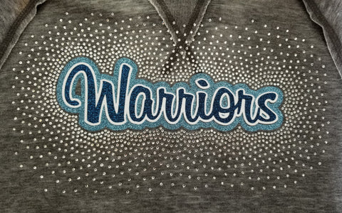 Central Valley Warriors Spectacular Bling Rhinestone Design