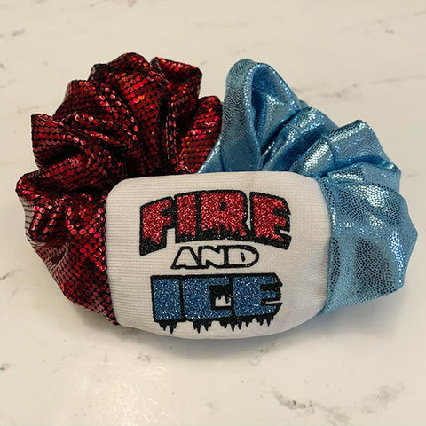 Fire and Ice All-Star Spirit Scrunchie