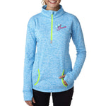 Ladies' Cosmic Quarter-Zip Fleece - GrandChampBows