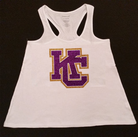 In Stock Karns City Gremlins White Flare tank top - GrandChampBows