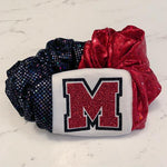 Custom School Spirit Scrunchies