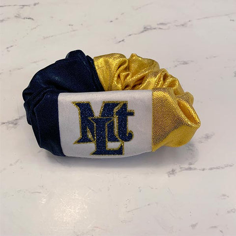 Mt Lebanon Lebos School Spirit Scrunchie
