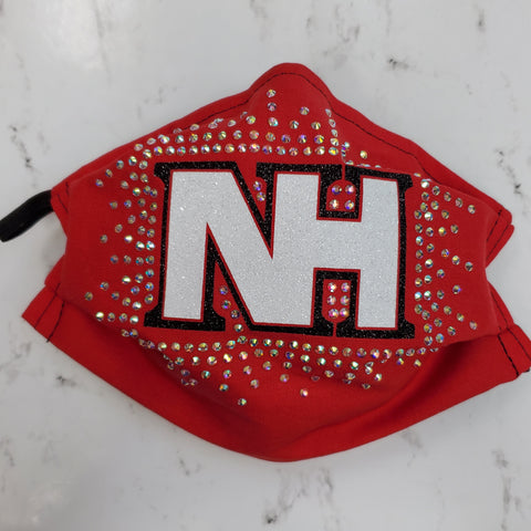 North Hills Indians Bling Masks