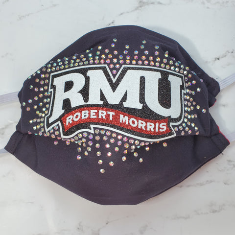 Robert Morris University RMU Bling Masks