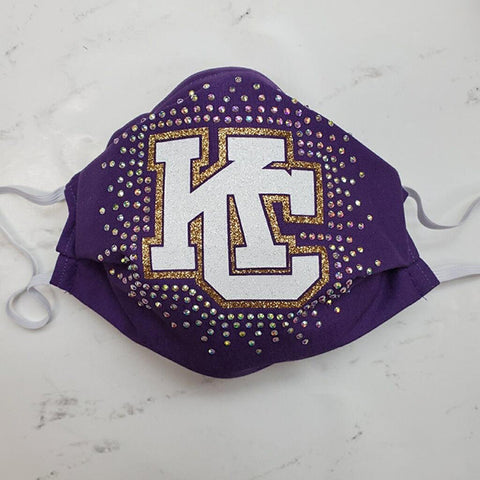 Karns City Gremlins Bling Mask