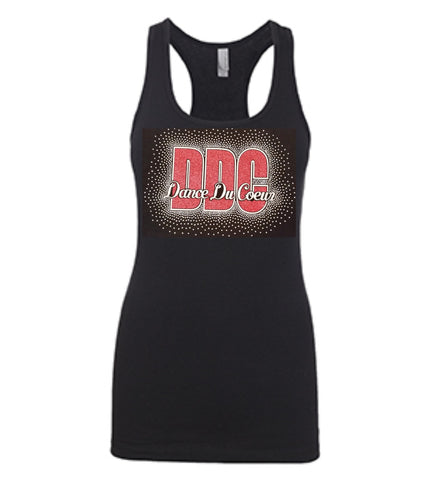 DDC Solid Fitted Racerback Tank