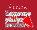 Neshannock Lancers Future Cheerleader Toddler Tee - GrandChampBows - 2