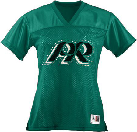 Pine Richland Replica Football Jersey in Girls & Ladies Fitted Size - GrandChampBows - 1