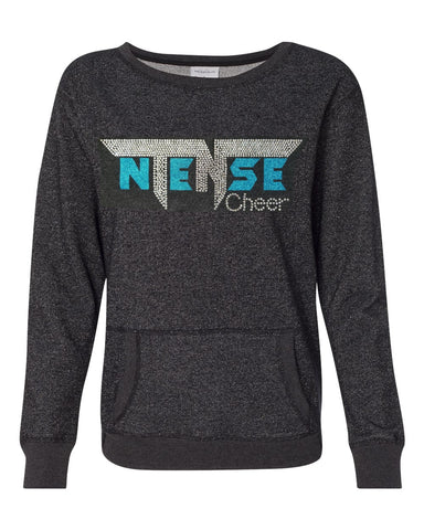 Ntense Glitter Crew Neck Sweatshirt with Pocket – Ladies Sizes