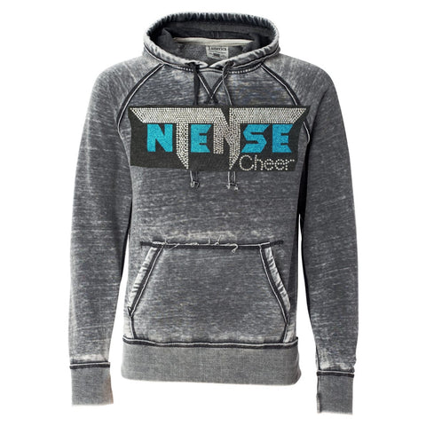 Ntense Vintage Zen Pullover Hoodie in Adult sizes