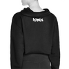 Brooklyn Graffiti Cropped Hoodie