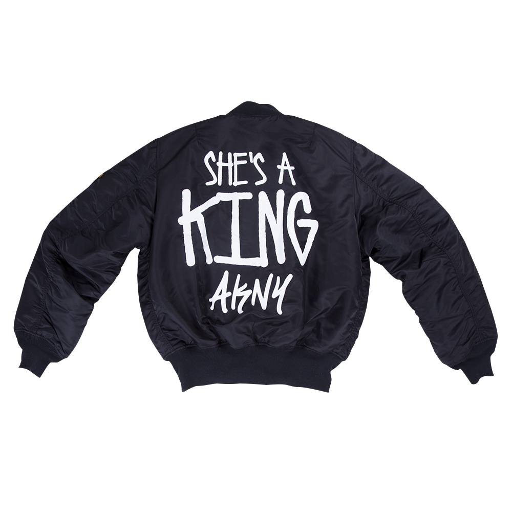 she s a king bomber jacket alicia keys official store