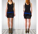 LIBERTY / FREEDOM BODYCON DRESS - Charcoal - ExpressLiberty.com - Products for Libertarians, Conservatives, Patriots, and Objectivists.