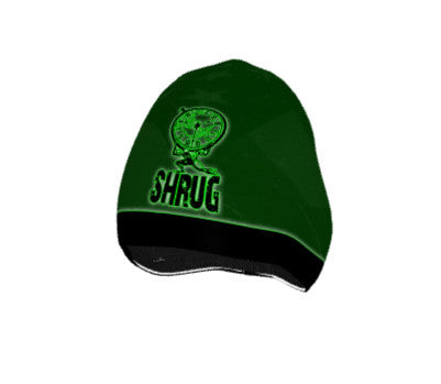 """SHRUG"" BEANIE: Green - ExpressLiberty.com - Products for Libertarians, Conservatives, Patriots, and Objectivists."