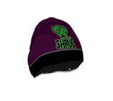 """SHRUG"" BEANIE: Purple - ExpressLiberty.com - Products for Libertarians, Conservatives, Patriots, and Objectivists."