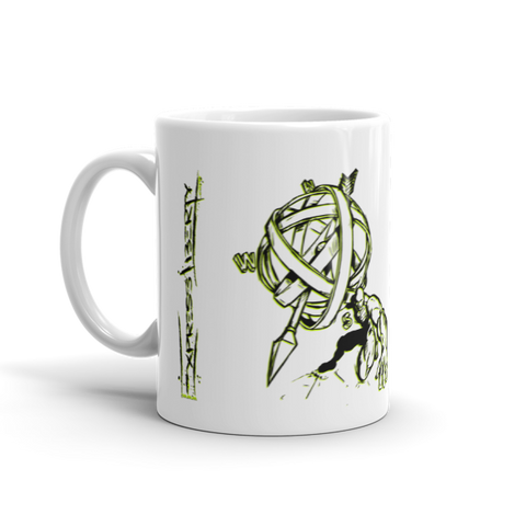MUG: Atlas Shrugging by ExpressLiberty.com (Blk/Grn) - ExpressLiberty.com - Products for Libertarians, Conservatives, Patriots, and Objectivists.