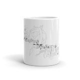 MUG: Liberty Quote over Shrugging Atlas. (Blk/Gry) - ExpressLiberty.com - Products for Libertarians, Conservatives, Patriots, and Objectivists.