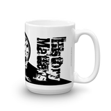 "MUG: ""History Matters"" with History Atlas in Ying-Yang style. - ExpressLiberty.com - Products for Libertarians, Conservatives, Patriots, and Objectivists."