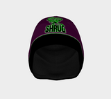 """SHRUG"" BEANIE: Purple"