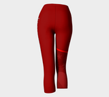 LIBERTY CAPRIS - Red - ExpressLiberty.com - Products for Libertarians, Conservatives, Patriots, and Objectivists.