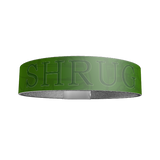 """SHRUG"" SILICONE WRIST BAND: Green - ExpressLiberty.com - Products for Libertarians, Conservatives, Patriots, and Objectivists."