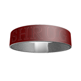 """SHRUG"" SILICONE WRIST BAND: Red - ExpressLiberty.com - Products for Libertarians, Conservatives, Patriots, and Objectivists."