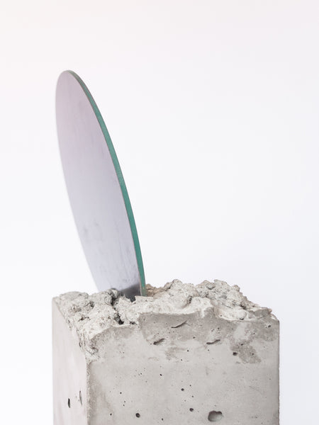 Concrete Mirror Object