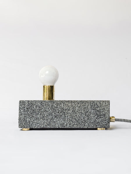 Concrete Brick Lamp with Granite Finish