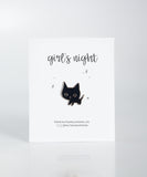 Girl's Night Out Pins - Sassy Kitty