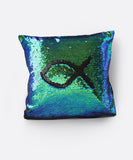 Shimmer Siren Pillow Cases - Deep Sea