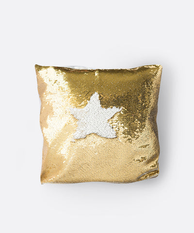 Shimmer Siren Pillow Cases - Gold